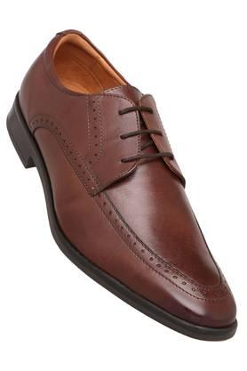 VENTURINI Mens Leather Lace Up Derbys - 204000292_9126