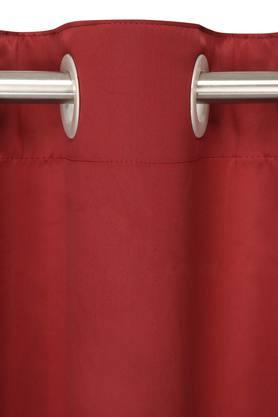 Solid Window Curtain - Pack of 2