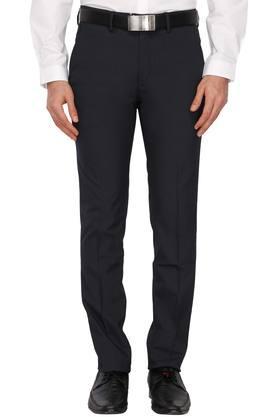 LOUIS PHILIPPEMens 4 Pocket Self Pattern Formal Trousers