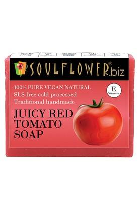 SOULFLOWER Juicy Red Tomato Handmade Soap