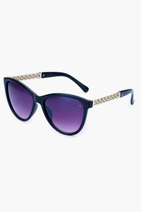 Womens Cat Eye UV Protected Lens Sunglasses - 48954BLK
