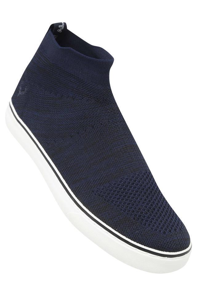 Mens Mesh Slip On Sneakers