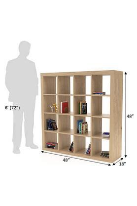 Brown Wdcv Book Shelf