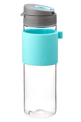 Round Bottle with Tea Cup - 600ml