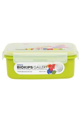 Rectangular Colour Block Container with Lid - 900 ml