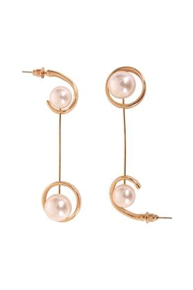 Womens Duet Hanging Dangler Earrings