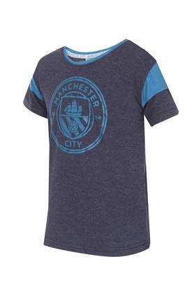 Boys Round Neck Graphic Tee