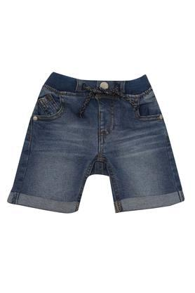 ee7ebdfad93 X MOTHERCARE Boys 5 Pocket Whiskered Effect Shorts