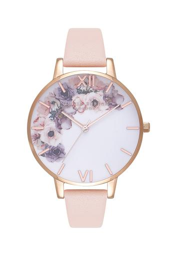 Womens Multi-Colour Dial Leather Analogue Watch - OB16PP30W