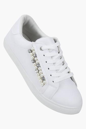 TRUFFLE COLLECTION -  WhiteSports Shoes - Main