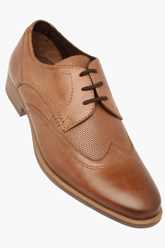 Mens Leather Lace Up Derby