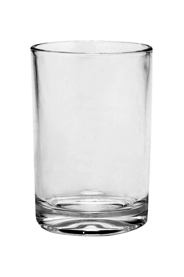 Round Transparent Juice Glasses Set of 6