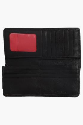 Womens Casual Wear Snap Closure Ranchero 1 Fold Wallet