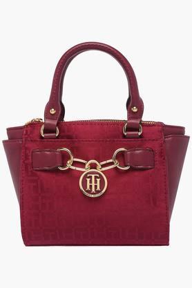TOMMY HILFIGERWomens Casual Wear Zipper Closure Tote Handbag