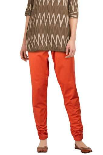 GO COLORS -  Orange Palazzo & Salwars - Main