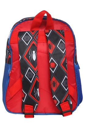 Boys Spiderman Zip Closure School Bag