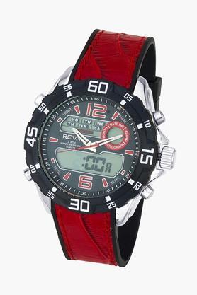 Mens Analogue- Digital Silicone Watch - GI8201W04