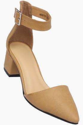 ALLEN SOLLY Womens Party Wear Buckle Closure Heels - 202873009