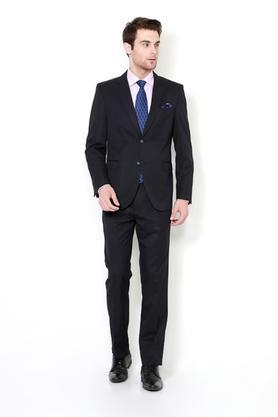 80e070e3379 X VAN HEUSEN Mens Notched Lapel Solid Suit