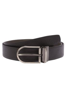 VETTORIO FRATINI Mens Leather Buckle Closure Formal Belt - 203532630