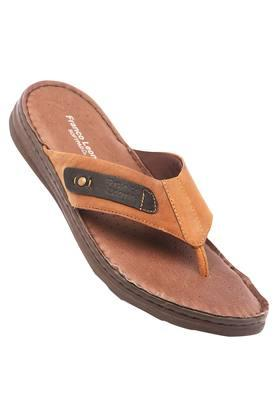 FRANCO LEONEMens Leather Casual Wear Slippers