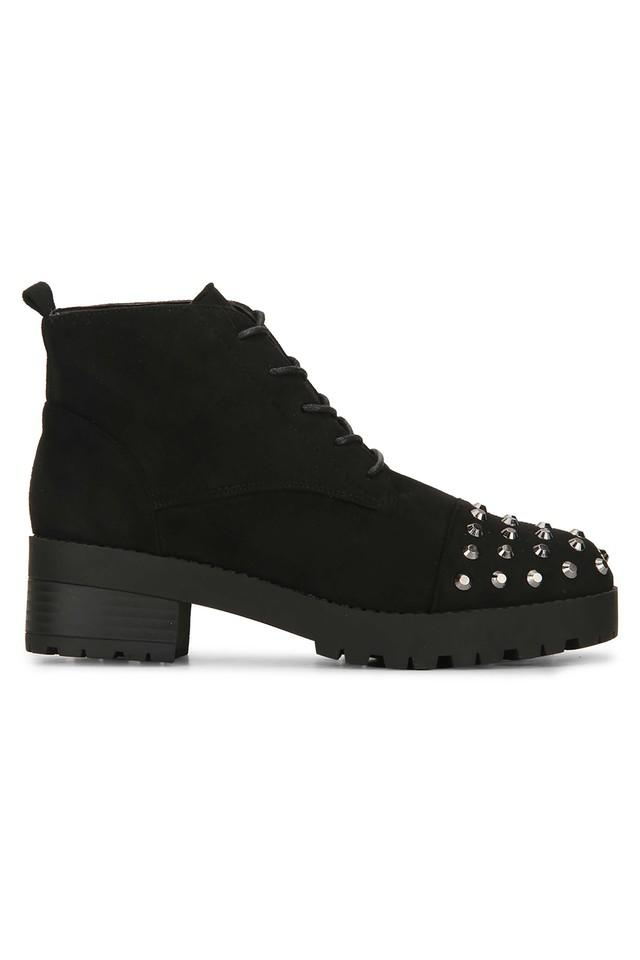 Womens Casual Wear Lace Up Boots