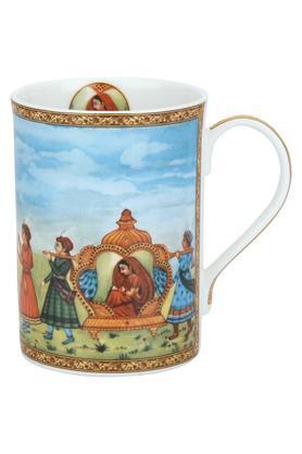 Round Rajasthani Vidaai Printed Mug