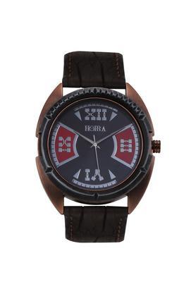 HORRAMens Eco Series Black Red Dial Analog Watch - HR717MLBKR81
