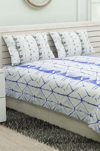 Double Bed Printed Reversible Quilt