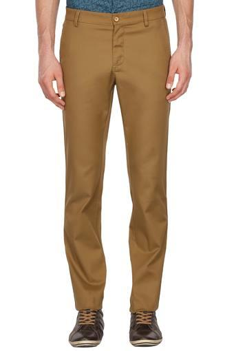 ALLEN SOLLY -  Khaki Cargos & Trousers - Main