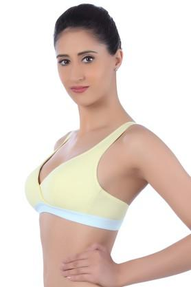 Womens Non Padded Non Wired Push Up Bra