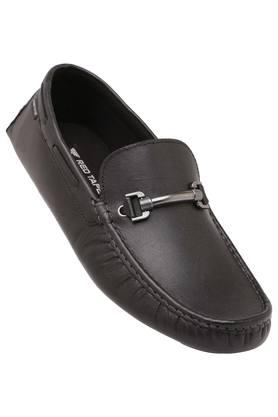 RED TAPE Mens Leather Slipon Loafers - 203947374_9212