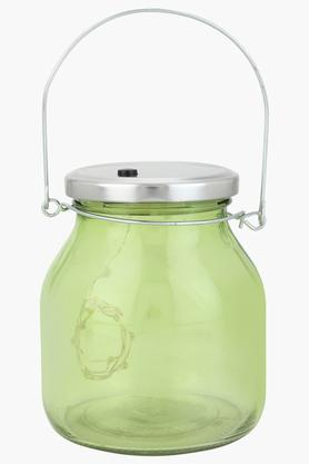 IVY Round Jar With LED Tight With Hanging Loop - 204121517_9463