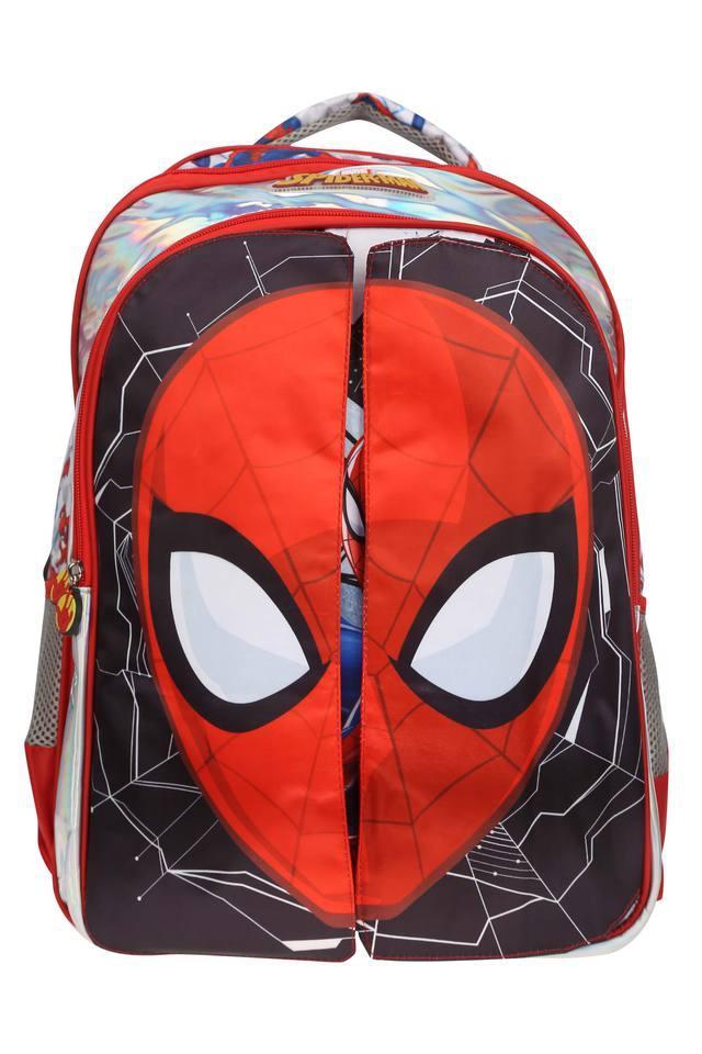 Unisex 3 Compartment Zip Closure Spiderman Backpack