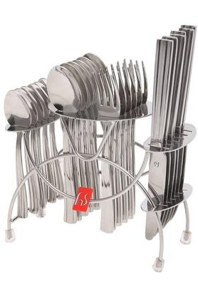 FNS Stainless Steel Cutlery Set Of 24