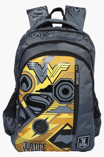 Unisex Zipper Closure Backpacks