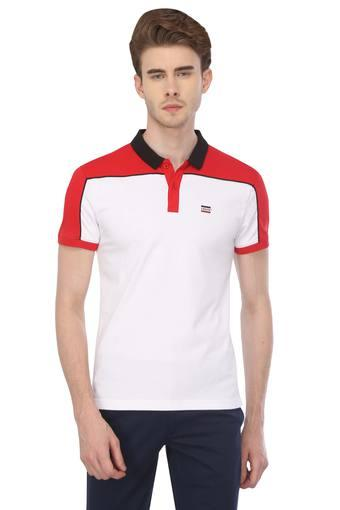 e8803c27 Buy LEVIS White Mens Solid Polo T-Shirt | Shoppers Stop