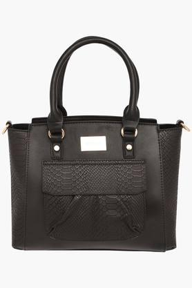 SATYA PAUL Womens Zipper Closure Satchel Handbag