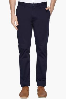 BLACKBERRYS Mens Slim Fit 4 Pocket Solid Chinos - 202744782