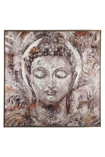 Square Spiritual Buddha Painting