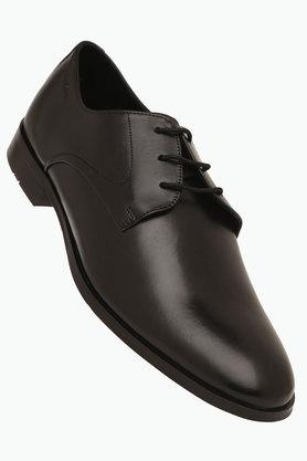 RUOSH Mens Leather Lace Up Derbys