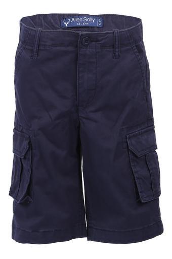 ALLEN SOLLY KIDS -  NavyBottomwear - Main