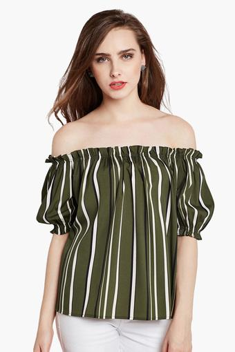 3bbb8c9856b Buy RARE Womens Off-Shoulder Bardot Top   Shoppers Stop
