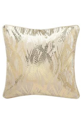 Square Velvet Foil Printed Cushion Cover