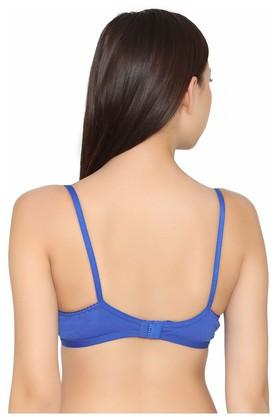 Womens Padded Non Wired Full Coverage Bra
