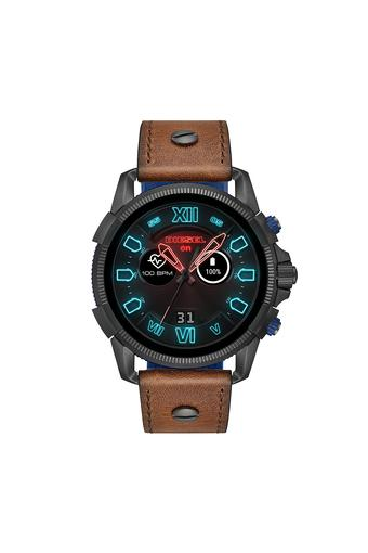 Mens Full Guard 2.5 Brown Leather Smart Watch - DZT2009