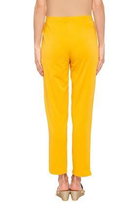 Womens Solid Kurti Pants