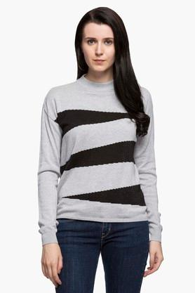 LEVISWomens Band Neck Colour Block Sweatshirt