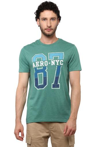 AEROPOSTALE -  Bottle Green T-Shirts & Polos - Main