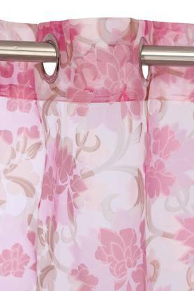 Floral Printed Door Curtain